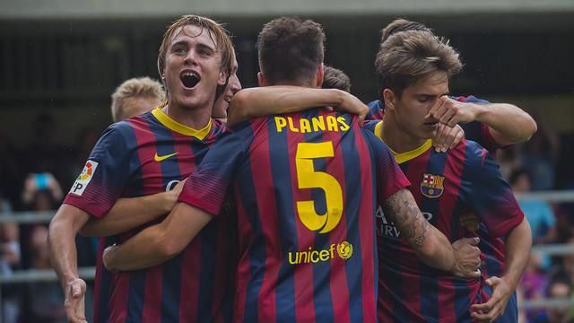 El Barcelona B quiere triunfar en la Nova Creu Alta
