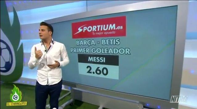 El primer goleador Barça-Betis