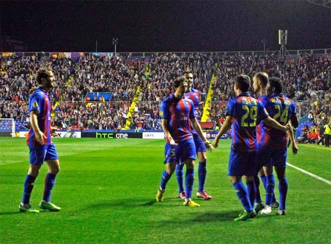 Un triunfo para acabar en el Ciudad de Valencia