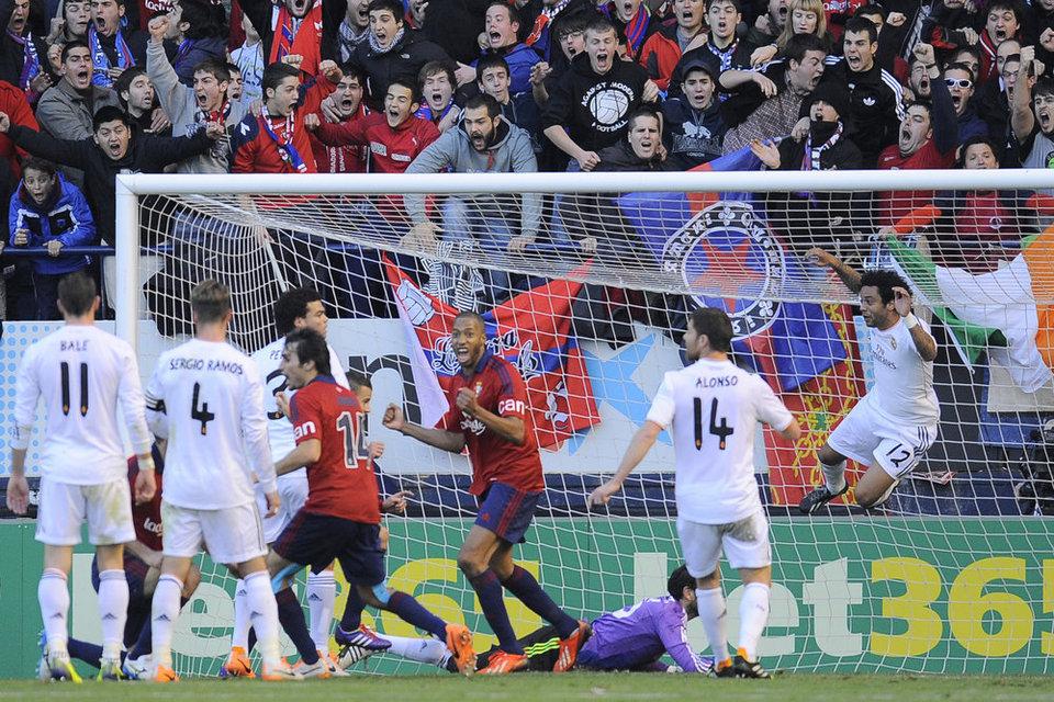 Osasuna quiere tomar el Santiago Bernabéu