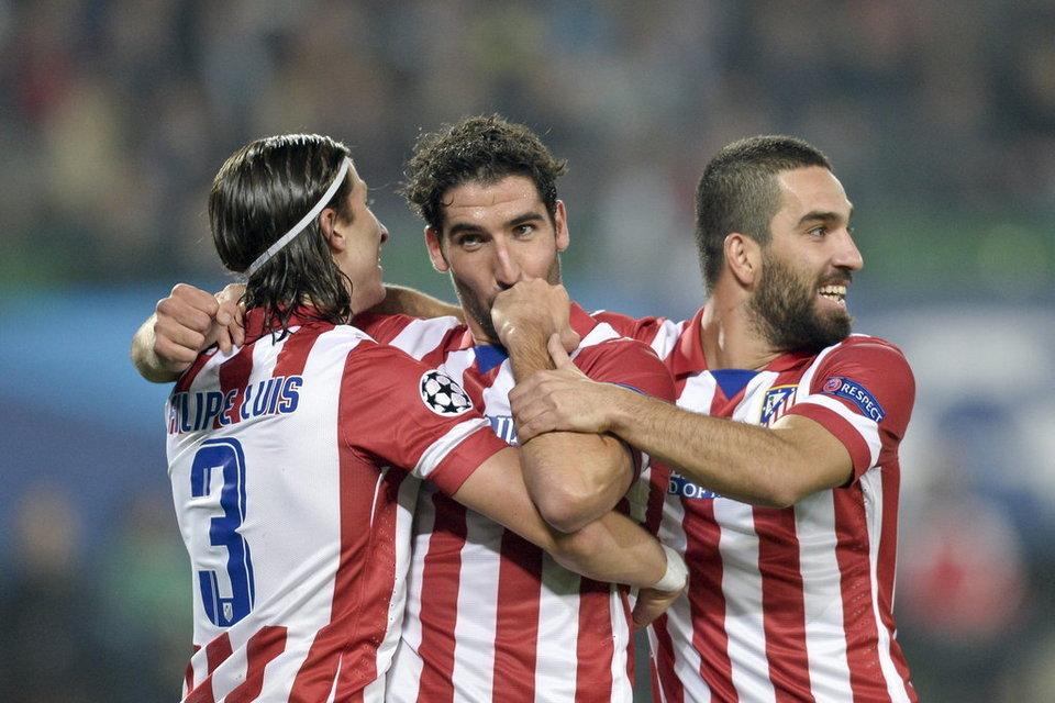 Primera final del Atlético por la Liga BBVA