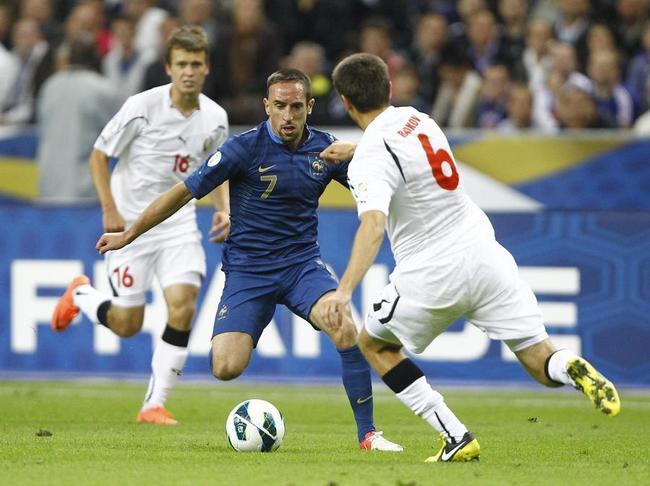 Francia inicia su preparación en el Stade de France