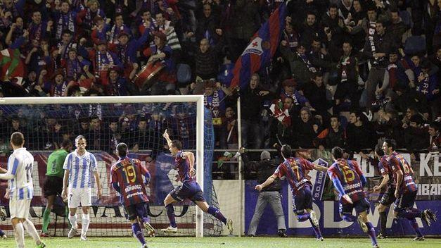 El Eibar asciende en la jornada 40 de Segunda