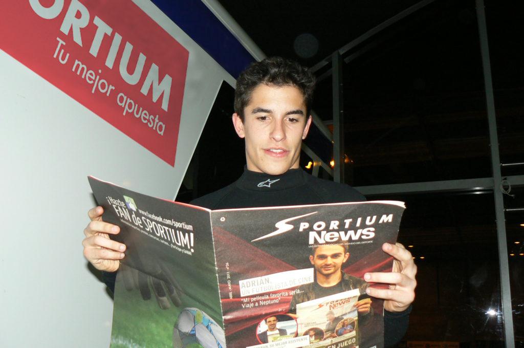 """Marc Márquez """"Mi reto es revalidar el título y no perder nunca la ambición"""""""