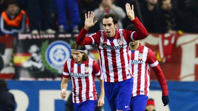 Godín le da la Liga a un Atlético superior