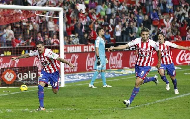 ¿Remontada de Primera en Gijón?