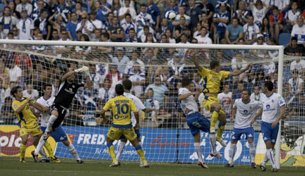 La UD Las Palmas busca el playoff