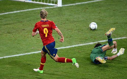 Fernando Torres e Iniesta dan el triunfo a España