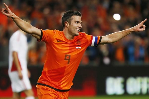 Van Persie da el triunfo a Holanda ante Ghana