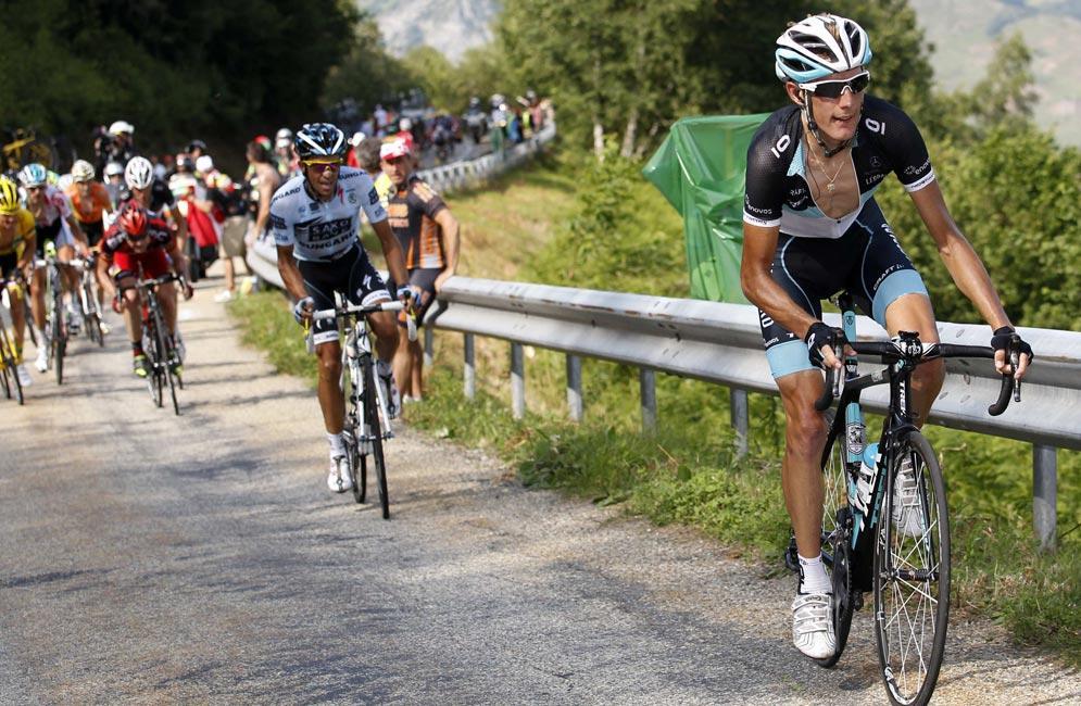 Alejandro Valverde se la juega en Los Pirineos