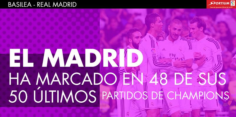 El Madrid es un seguro de gol