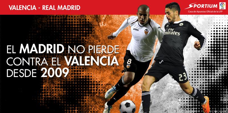 El Valencia no puede con el Madrid desde 2009