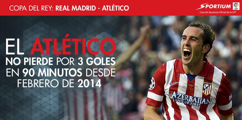 Golear al Atlético es tarea casi imposible