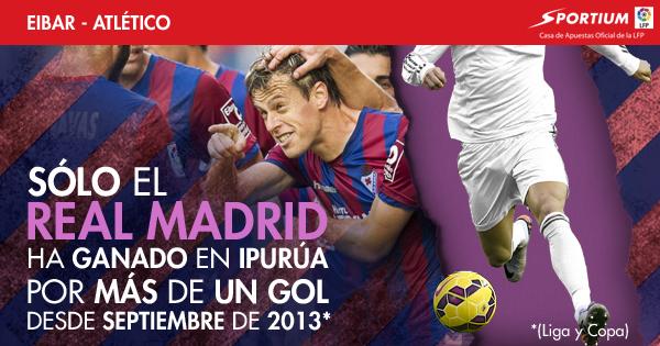 El Atlético no va a tener fácil ganar en Ipurua