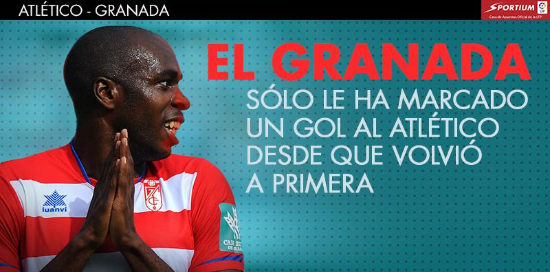 El Granada tendrá difícil marcar en el Calderón