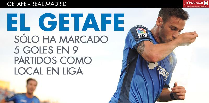 Al Getafe le cuesta hacer gol