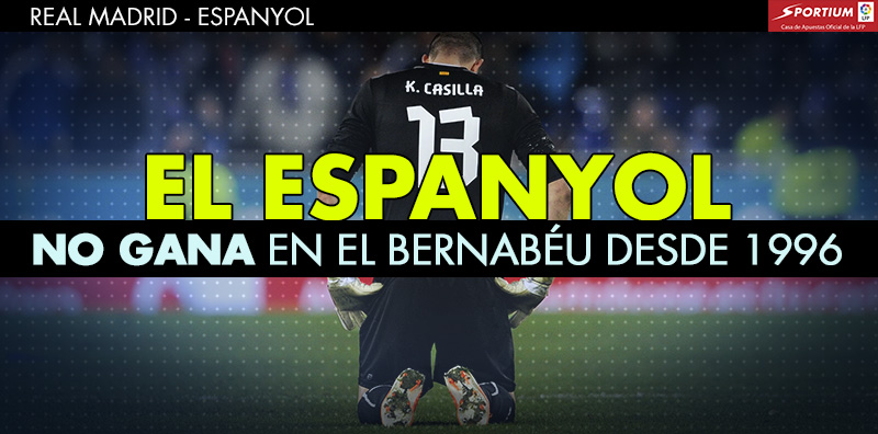El Espanyol no toma el Bernabéu desde hace casi 19 años