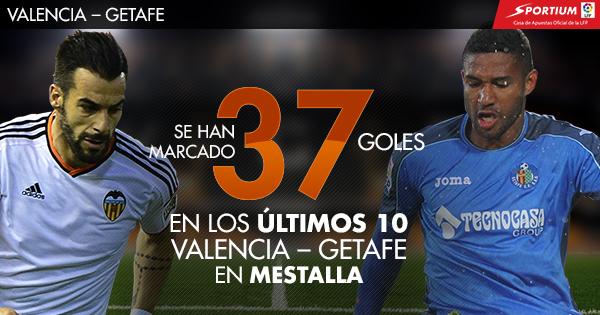 Los goles pueden ser protagonistas en Mestalla