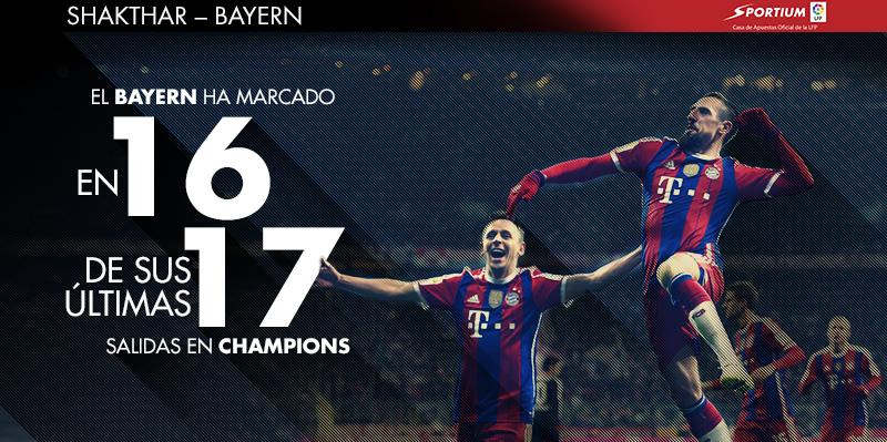 El Bayern es un seguro de gol lejos de casa
