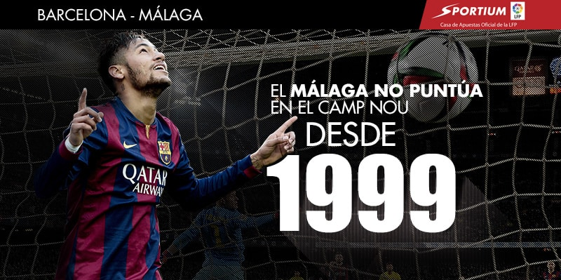 El Camp Nou es terreno maldito para el Málaga