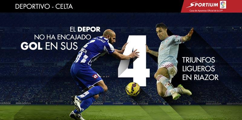 ¿Otro triunfo con la puerta a cero para el Deportivo?