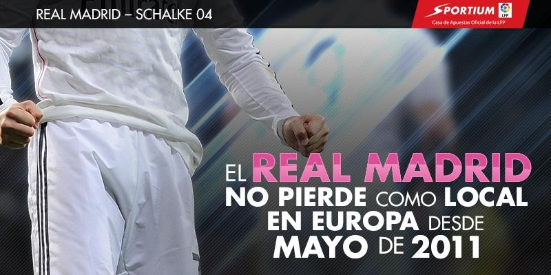 El Bernabéu es un fortín en Europa