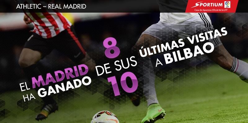 Al Madrid se le da bien San Mamés
