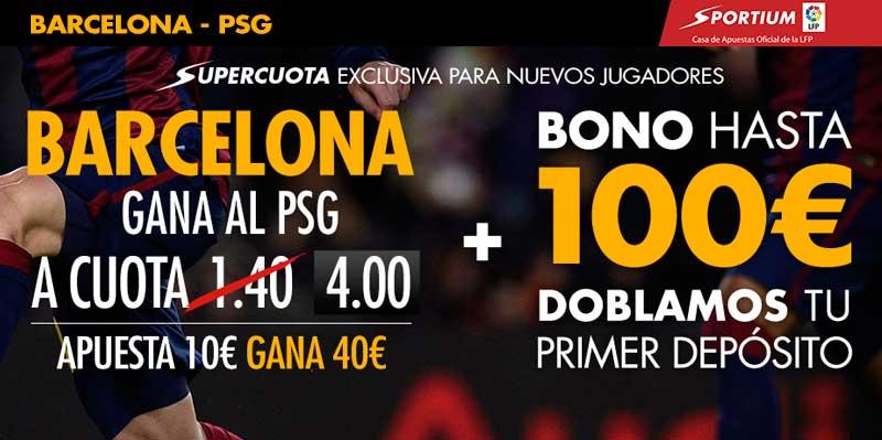 Supercota Barça PSG