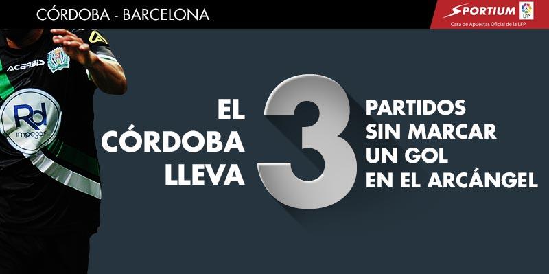 Los pronósticos del Córdoba-Barcelona
