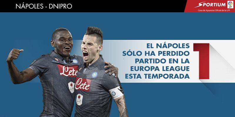 Será difícil que el partido de ida se le escape al Nápoles