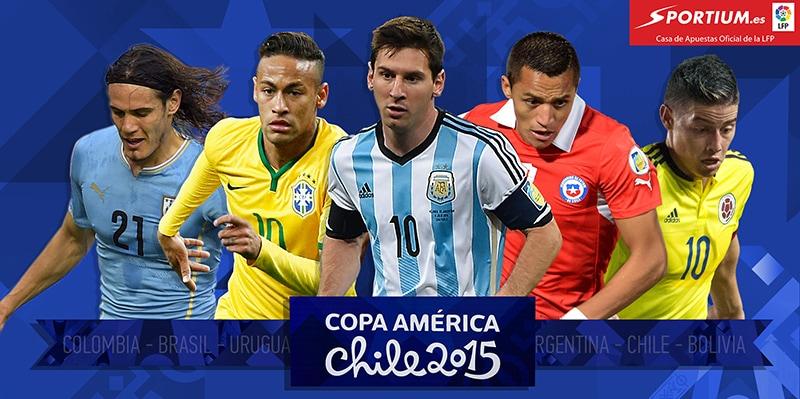 Las razones por las que hay que apostar por los favoritos en la Copa América