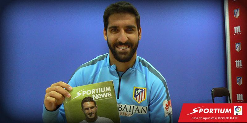 Entrevista exclusiva de SportiumNews a Raúl García