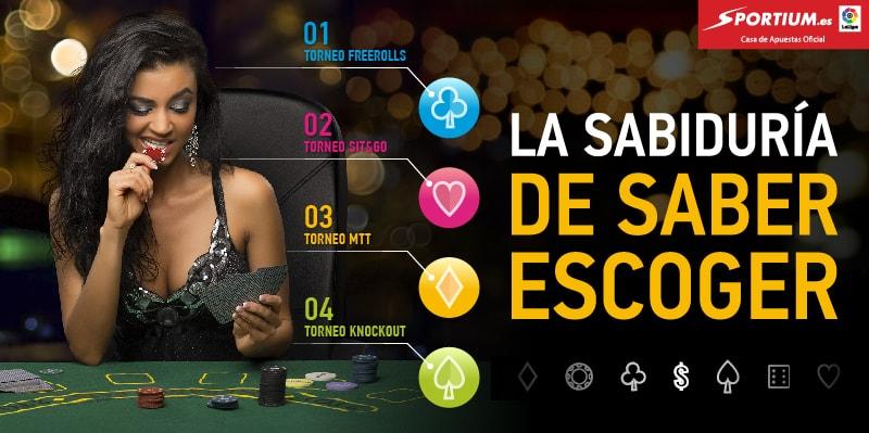 Los tipos de torneos que debes conocer para hacerte el Rey del Póker