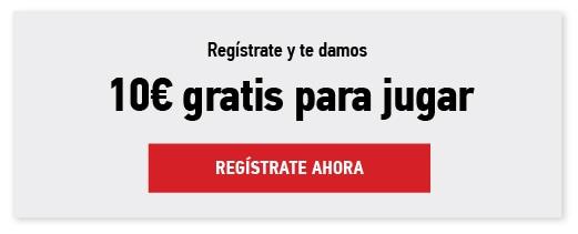 Casino Sportium: 10€ gratis por registro