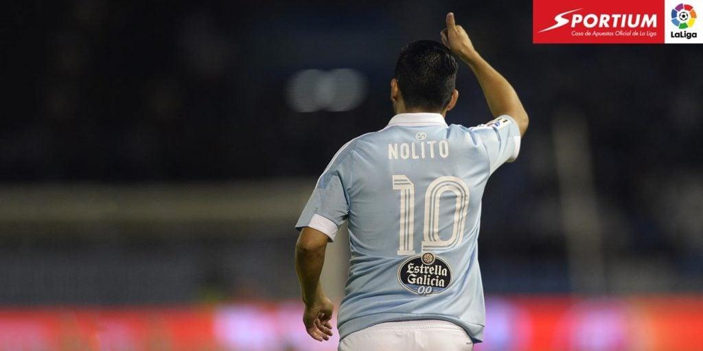 """Nolito: """"Me encantaría jugar la Champions con el Celta"""""""