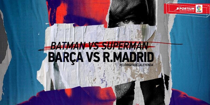 El duelo más esperado: Barça-Madrid, Clásico de Superhéroes