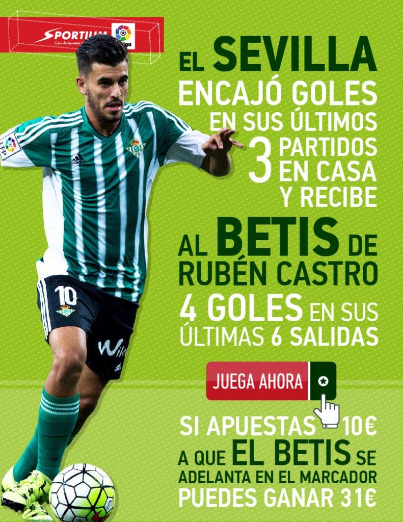 Dani Ceballos y Rubén Castro, una sociedad letal en el Betis.