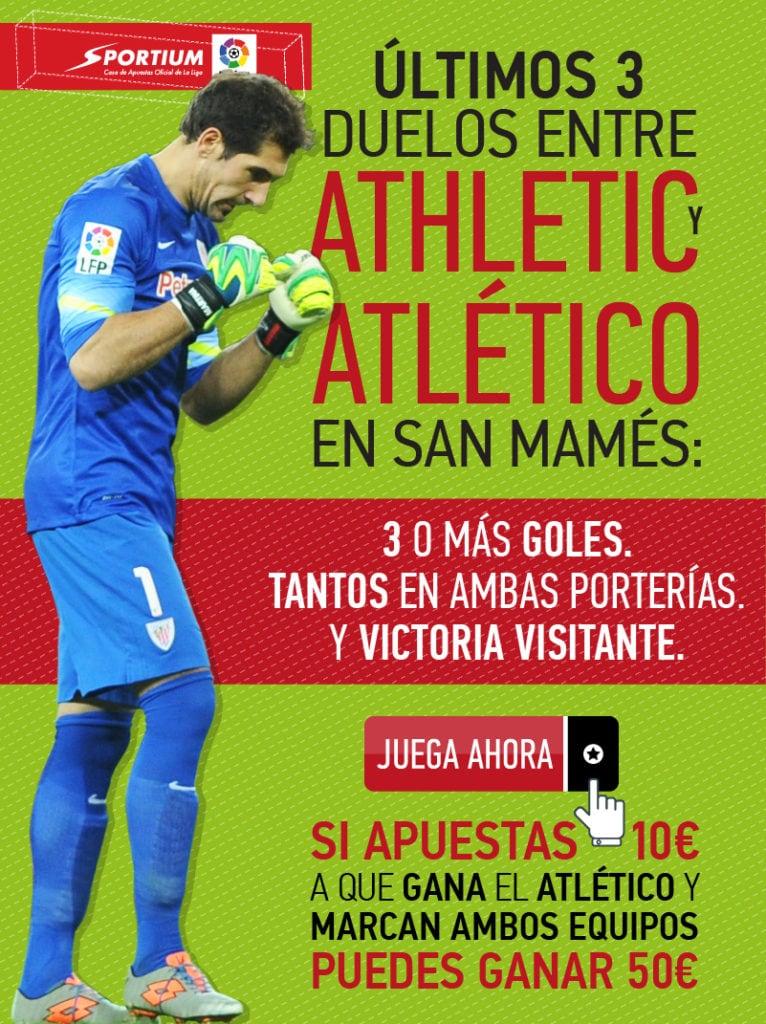 El Athletic - Atlético, el partido más destacado de la jornada de Liga.