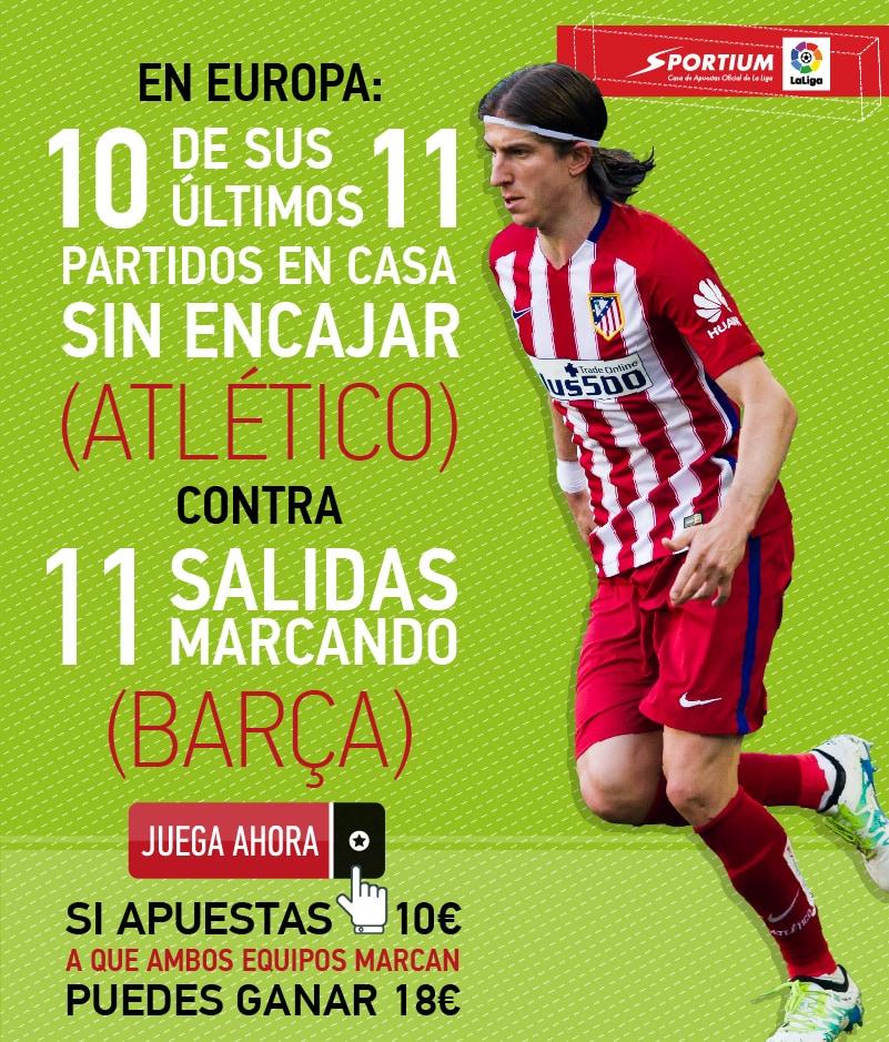 El Atlético - Barça será sin duda el partido estrella de estos partidos de vuelta de cuartos de final de la Champions League.