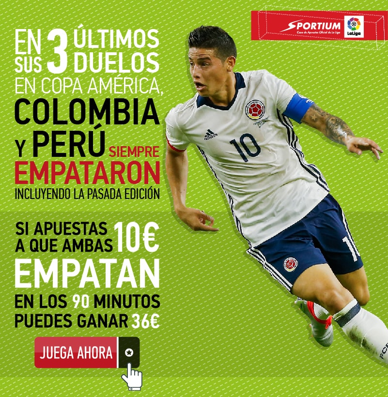 El Colombia - Perú, uno de los duelos estrella de los cuartos de final de la Copa América