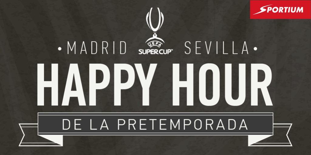 La Supercopa de Europa, o la 'Happy Hour' del verano