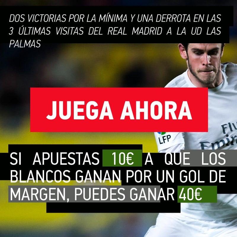 Las dificultades del Real Madrid en Gran Canaria pueden darnos beneficios este fin de semana.