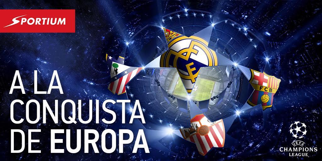 Comienza el despliegue de la armada española en la Champions League