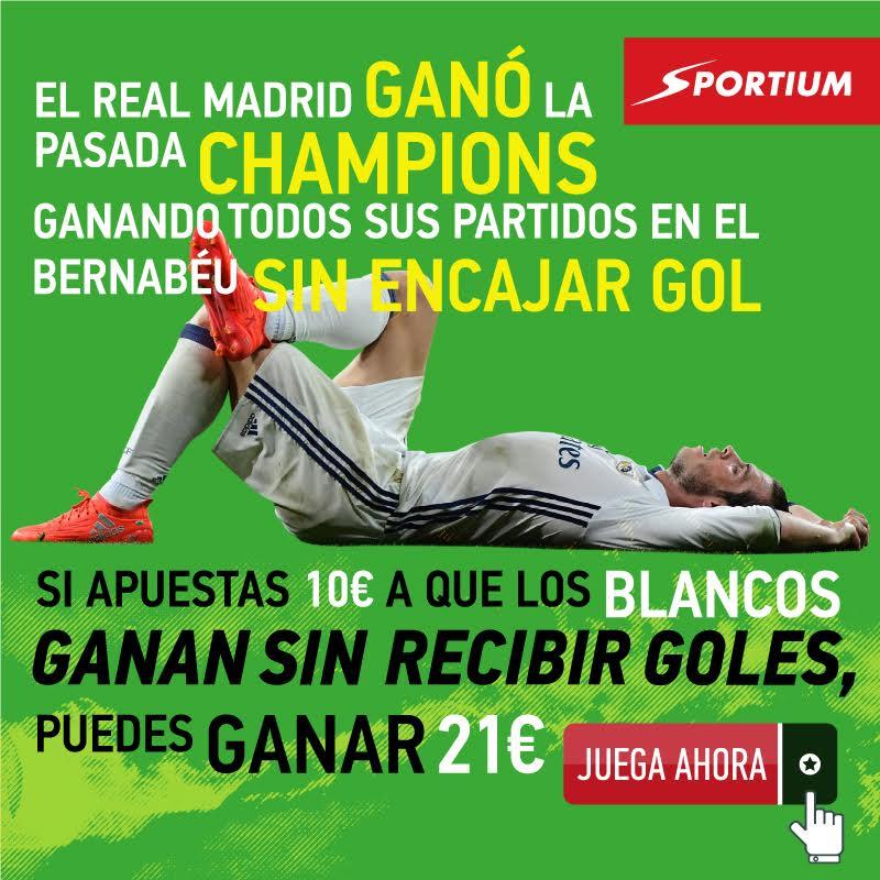 Sportium: El Real Madrid ganó todos sus partidos en casa la temporada pasada