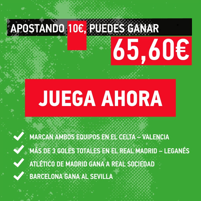 La combinada de la jornada número 11 en la Liga Santander.
