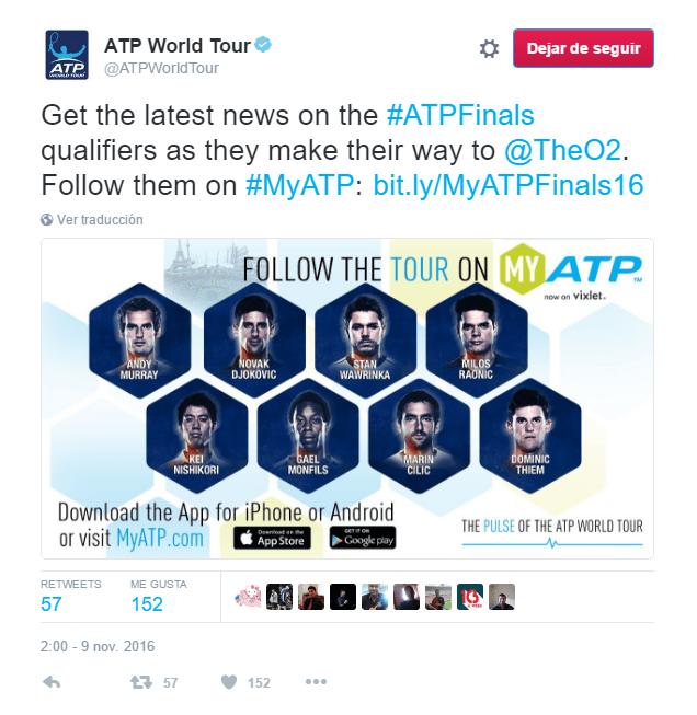 Los ocho participantes en la Copa Masters 2016