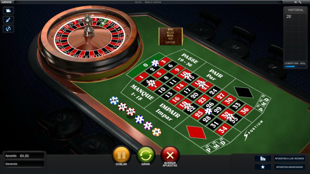 ganar ruleta online
