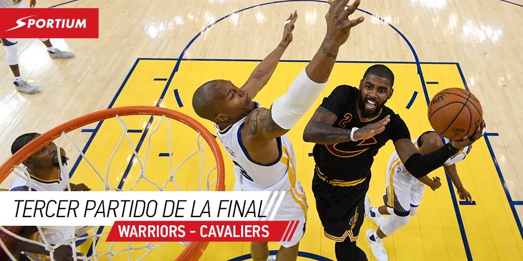 Las mejores cuotas para el tercer partido de la final NBA