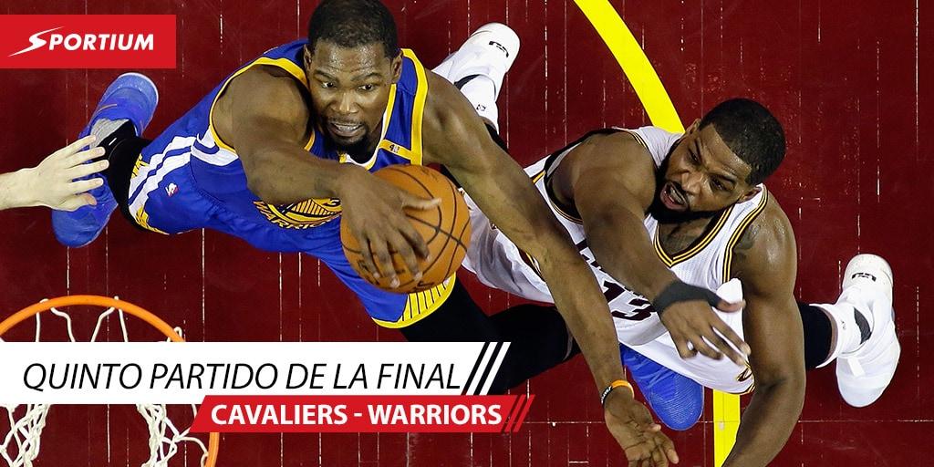 Las mejores apuestas para el quinto partido de la final NBA