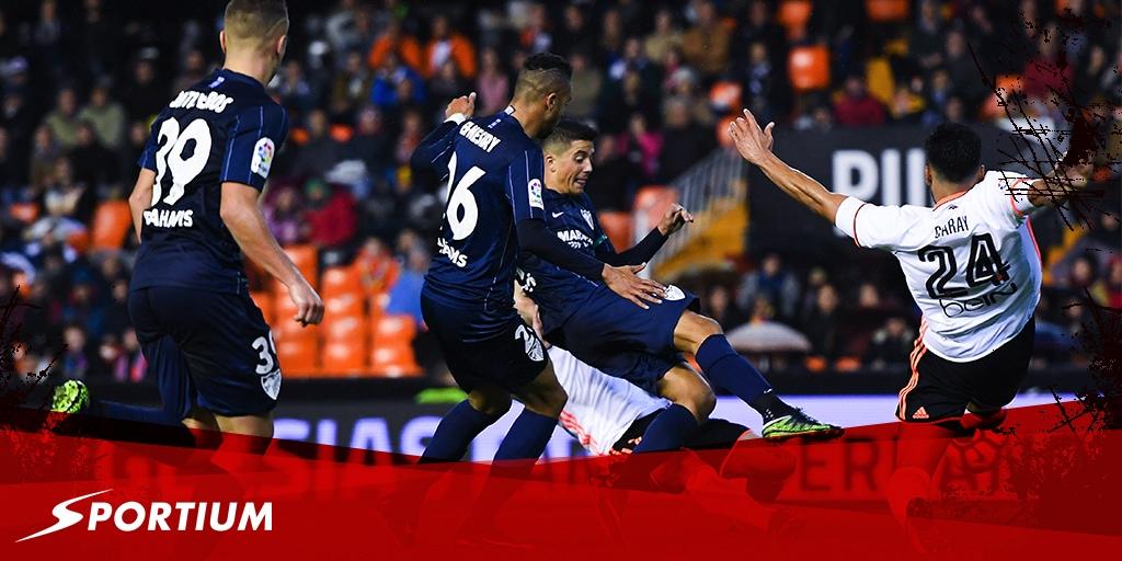 Apuestas al Valencia-Málaga: una cuestión de gol… y de polémica